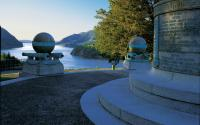 Trophy Point at US Military Academy at West Point