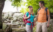 Hiking at Waggoner's Gap Hawk Watch