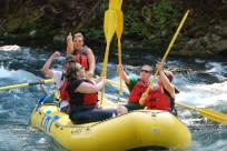 McKenzie River Rafting by TnT Whitewater Rafting