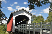 Currin Covered Bridge byTraci Williamson