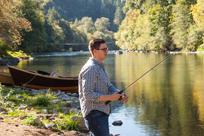 Fishing the McKenzie River