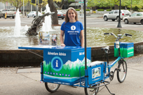 """MIKE the Bike"" Eugene, Cascades & Coast Mobile Visitor Information"