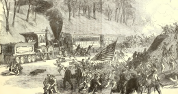 Battle of Vienna, VA - Train Attack