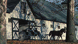 Barn and Carriage