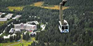 Alyeska Resort Tram in Girdwood