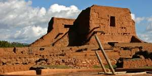Pecos National Monument, a large ruin and historic site with a museum and walking tour.