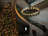 Christmas at Biltmore Stairwell