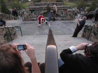 Bboy Santa at Sunset Terrace