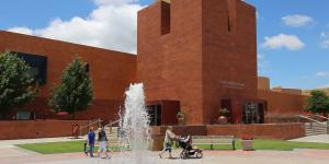 Cultural District Museum fountain