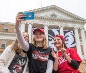 Selfie: Badgers
