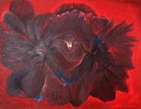 Public art acrylic painting Les Fleurs Du Mal