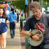 Copy of Musician on Franklin Street