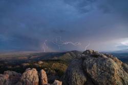 Lightning Horsetooth Rock Itsbentumnus