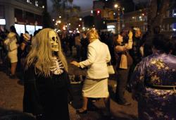 Village Halloween Parade 6