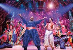 Aladdin, production Still