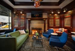 Library Bar at the Sheraton Hotel. Photo courtesy of Marriott Hotels