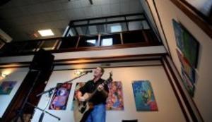 Carrboro Music Guitar Man