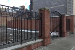 Gate at Cumberland County Historical Society