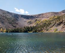 Virginia Lakes early fall color