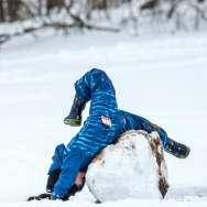 Winter Fun at Stone Quarry Hill Art Park