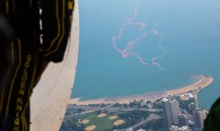 Air & Water Show 2014 - Aerial View 2