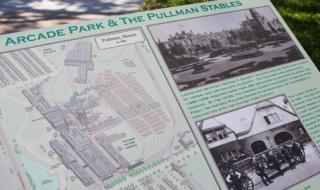 Arcade Park and the Pullman Stables