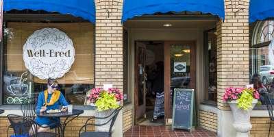 Well-Bred Bakery in Weaverville