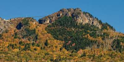 Fall Color Rolling Down The Mountains