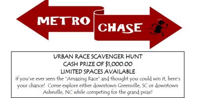 "Asheville's ""Amazing Race"""