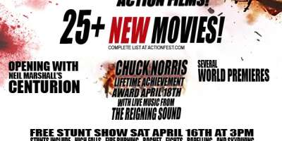 ActionFest & Chuck Norris Take Over Asheville