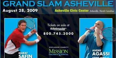 Grand Slam Asheville Gets New Star: Andre Agassi