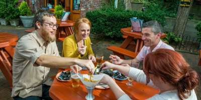 Go Out to Eat: Asheville's Hottest Patios