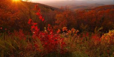 Photo of the Day: Red Ridge Parkway?
