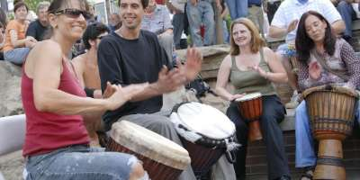 Asheville's Drum Circle Gets New Drums