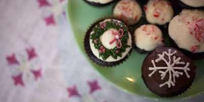Chocolate Peppermint Cupcakes #Recipe | ExploreAsheville.com