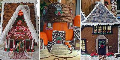 Deni Cole Gingerbread House