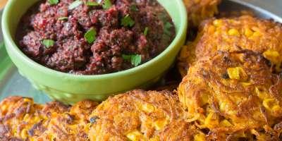 Sweet Potato Fritters #Recipe   ExploreAsheville.com