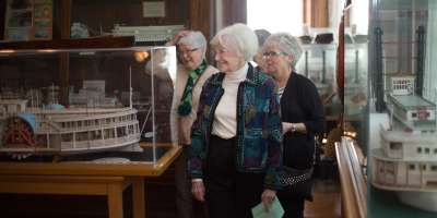 Touring the Howard Steamboat Museum