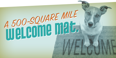 A 500-Square Mile Welcome Mat.