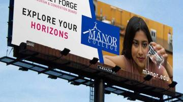 Manor College Billboard