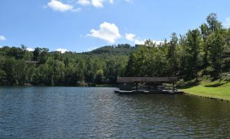 Lake at Yogi Bear Jellystone Campground Golden Valley