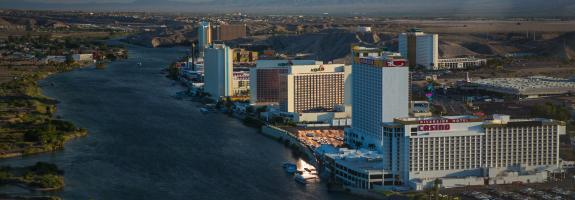 View Of Laughlin Resorts From Above