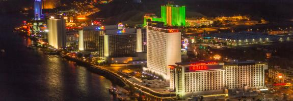 View of Laughlin Hotels and Casinos
