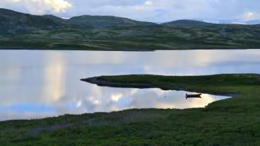 Bergsjøområdet, Ål i Hallingdal