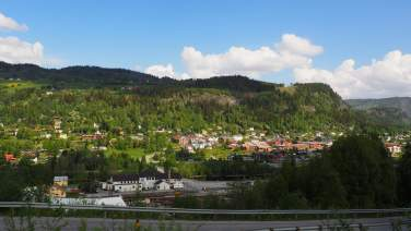 Ål sentrum, Ål i Hallingdal