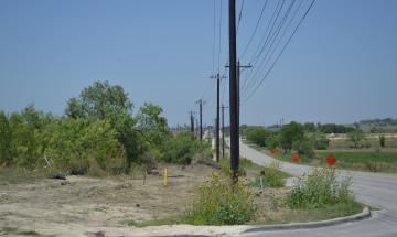 Utility relocation @ Klein  Road