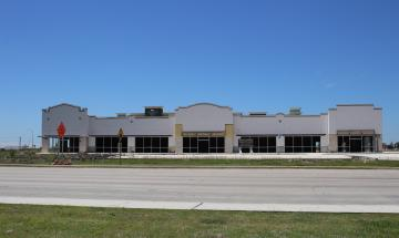 Retail space at Creekside Crossing and Central Plaza