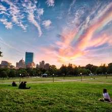 Boston Common Dusk