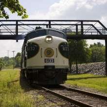 Train at NC Transportation Museum