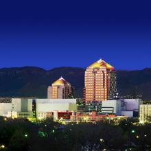 Albuquerque Skyline at Night 1
